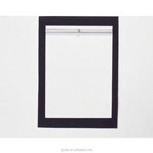aluminum black picture frame