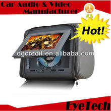 """9"""" Dual Security Detachable Headrest Monitor with 2 FREE Cigarette Lighter Power Lead"""