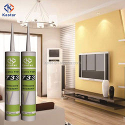 acetoxy silicone sealant for big plate glass GP uses