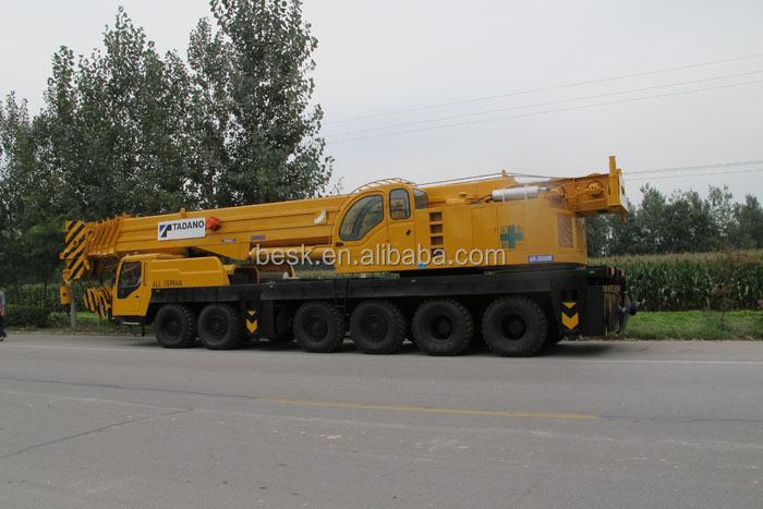 Telescopic Crane 200 Ton : Tadano tg m truck crane used telescopic t
