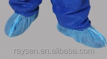 Disposable shoe cover non-woven material