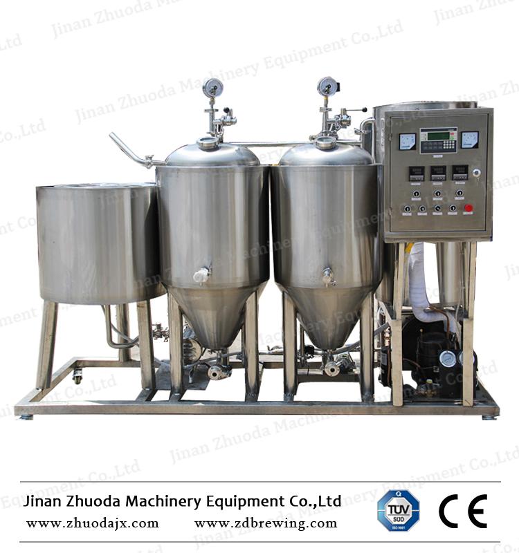 100lマイクロビール発酵ビール醸造所equipment.html、100lビール醸造所