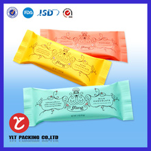 Food packing ketchup sachet, high barrier printed,three-side-seal,accept customized