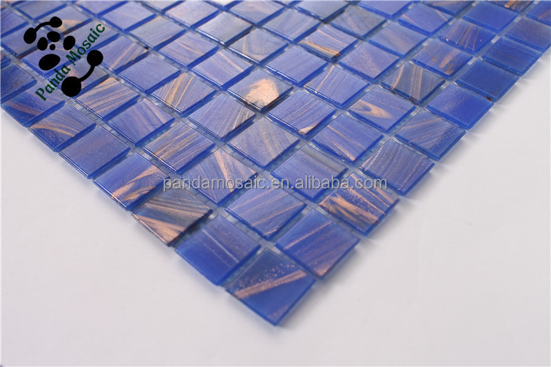 Mb Smh01 Cheap Bathroom Blue Mosaic Vitrified Tile Glass Mosaic Tile ...