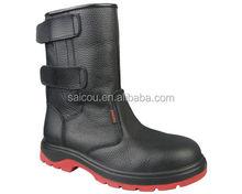 En iso 20345 resistatant acqua e resistente agli oli e di sicurezza anti statica stivali fabbrica(sc- 6603)