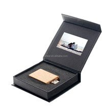 2015 creative plastic black video box playing gift box EXW price