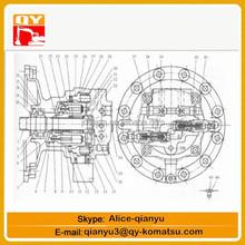 kawasaki hydraulic motor kawasaki swing motor M5X180 swing motor assy