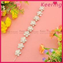 new rhinestone metal wedding bridal hair accessories WHD-030