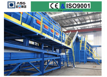 municipal solid waste separating equipment