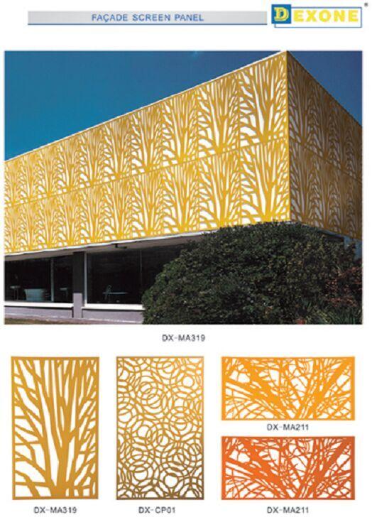 Paneles decorativos para exterior top algunos otros - Paneles decorativos exterior ...
