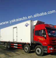 dry cargo truck box van,jiefang refrigerator truck and truck body,