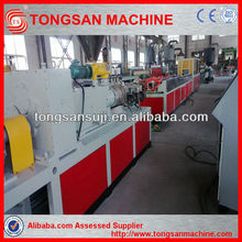 wpc wood plastic decking/fence/wall panel/post making machine wpc profile extruder