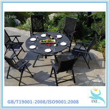 Restaurant dining tables and chairs--china market hot sale metal dining tables and chairs