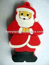 1-32G promotion chirstmas gift:Santa Claus USB flash drive