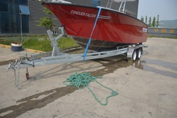 fishing speed aluminum boat trailer