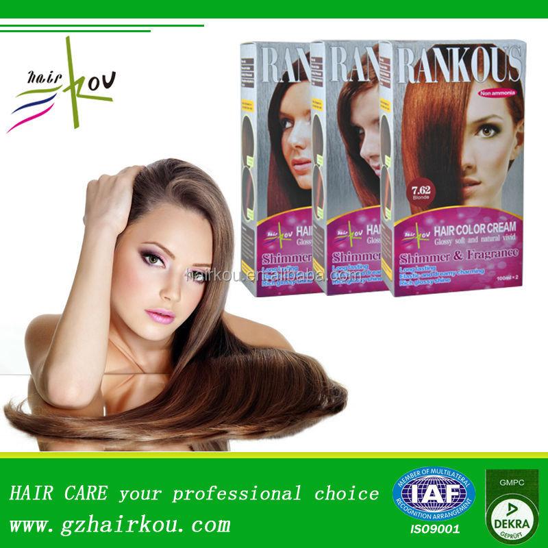 Rankous Brand Hair Coloring Best Hair Dye Wholesale Products Dark