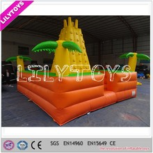 Adult inflatable rock climbing wall, inflatable rock climbing toy for kids