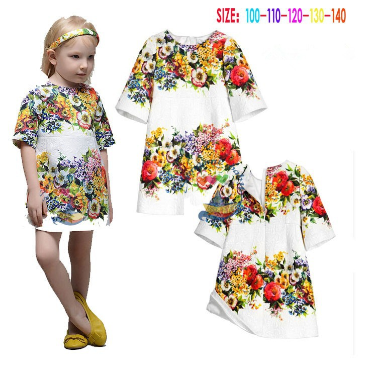 Cheap baby girl clothes flower girl dress children s boutique clothing