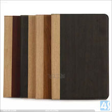 For iPad Mini 4 Wood Pattern Retro Flip Leather Wallet Stand Case Cover for iPad Mini4 Accessories