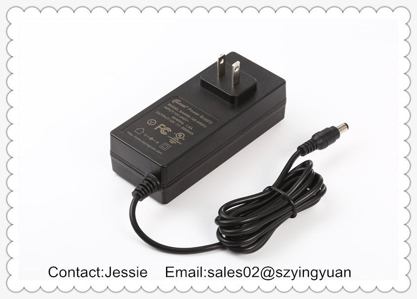 Горячий продавать 65 Вт настенное крепление адаптер питания с CE, UL FCC SAA KC JP CCC сертификаты
