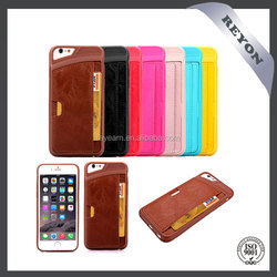Wallet Case for iPhone 6 leather case Slim Protective Leather Wallet, Credit Card ID Holders and carrying case for iPhone 6