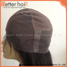 Fashional brown thin skin full lace wig caps for making wigs
