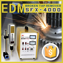 removing the metal fragment edm/ Broken taps or fastners Disintegration machine