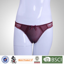 Factory Price China New Design Sexy Lace Ladies Thong