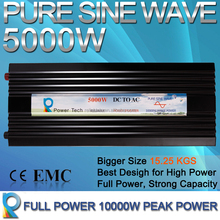 best 48v dc to ac pure sine wave 5kw solar panel inverter for home use