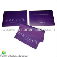 customed fine texture microfiber chemical treatment cleaning cloth
