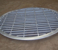 Factory best pricre hot dip galvanized trench steel grating