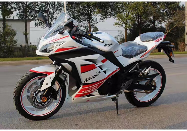 Tipo y tipo 4-stroke engine bici de la suciedad 250cc motocicleta automática