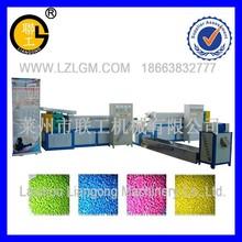 Waste PP PE recycled plastic granule making machine