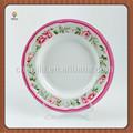 la cena de melamina melamina placa de navidad placas compartimiento de platos de la cena