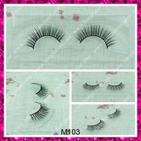 Hot sale mink fur eyelash with private labelling wholesale price