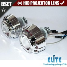3.0HQTdouble angel eyes plastic HID projector headlight xenon light kit