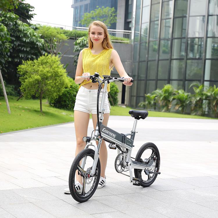 Venta al por mayor China E Batería de litio de aleación inteligente de liberación rápida Strida Land Rover Folding Bike