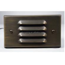 low voltage IP44 wall light brass outdoor light