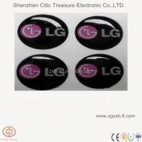 expoxy logo sticker/epoxy label stickers