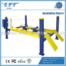 four post hydraulic alignment lifts;pneumatic car lift