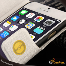 2015 good quality leather cell phone case / cheap PU leather phone case for iphone 6