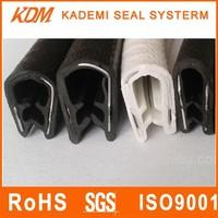 Metal insert car door rubber seal anti-aging pvc seal strip pvc seal strip