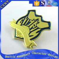 Custom high quality metal craft lapel pin badge emblems