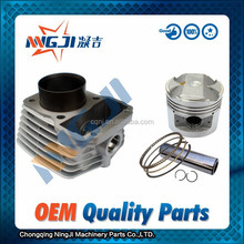 Lifan CG125 Motorcycle Cylinder kit Engine 56.5mm diameter High Quality Motorcycle Parts Engine Piston Ring