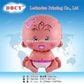 Forma personalizada balões de hélio folha, grande baby- menina balão