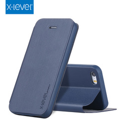 X-Level Alibaba pu leather case for iphone 5 bulk cell phone case for iphone 5s