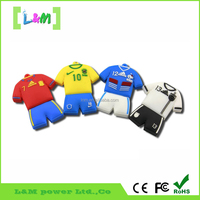 New Custom PVC USB Flash Drive With polo shirt Shape