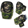 Waterproof hiking camping bicycling outdoor wrist bag camouflage pouch bag for cells