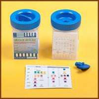 CE&ISO13485 Approved 5 Panel Urine Drug Test Plus Urine Alcohol Test