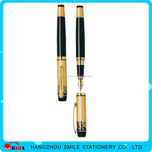 Promotional white feather fountain pen